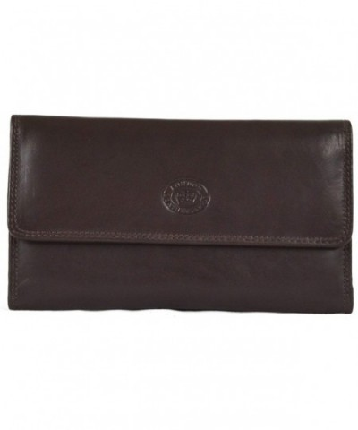 Ladies Nappa Matinee Leather Wallet