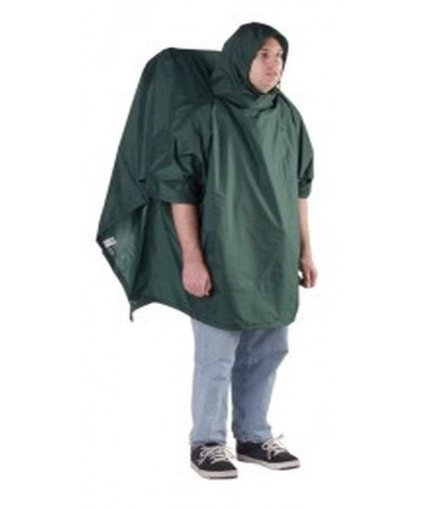 Outdoor Products Backpacker Poncho Forest