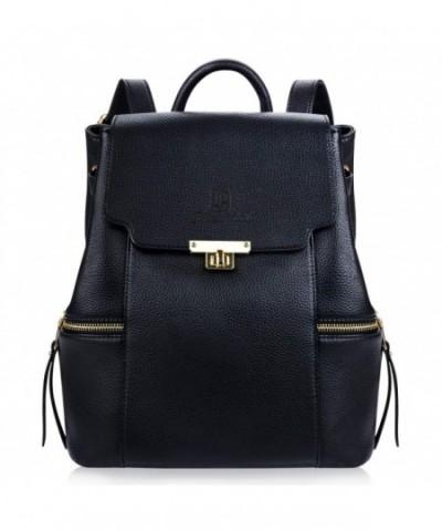 Fanspack Backpack Leather Schoolbag Shoulder