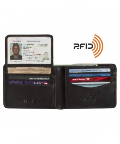 Leather Removable Passcase Organizer Currency