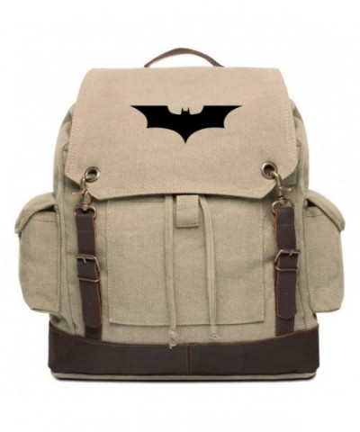 Batman Begins Rucksack Backpack Leather