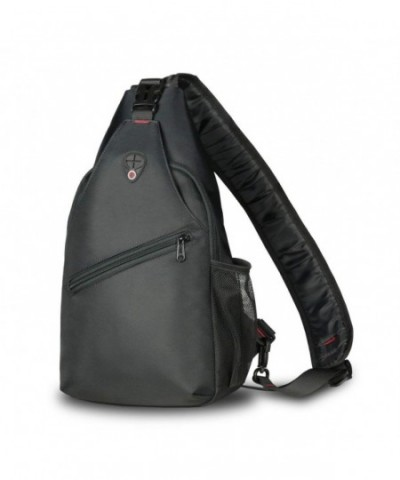 ZHF Unisex Shoulder Backpack Zippers
