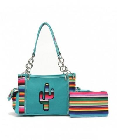 Western Handbag Multi Colored Concealed Shoulderbag