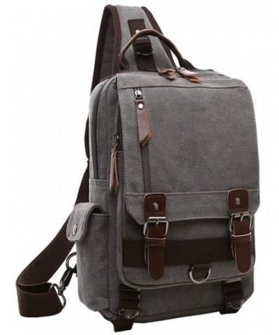 El fmly Messenger Crossbody Shoulder Backpack