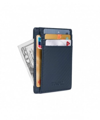 TOAOLZ Pocket Leather Wallet Business