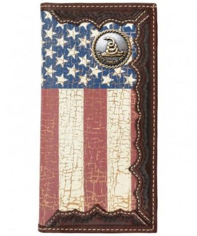 Custom American Wallet Distressed United