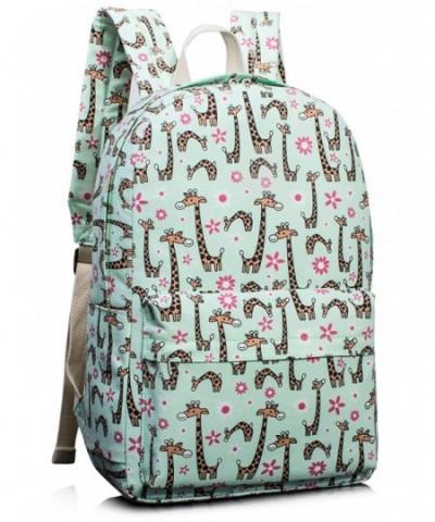 Bookbags Giraffe Backpack College TOPERIN