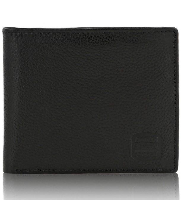 Suvelle Genuine Leather Blocking Slimfold