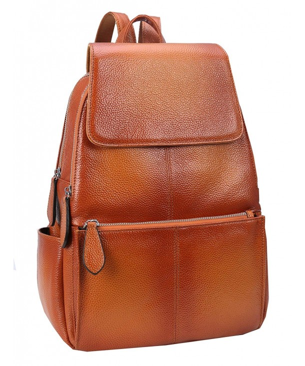 Womens Leather Backpack Daypacks Fashion