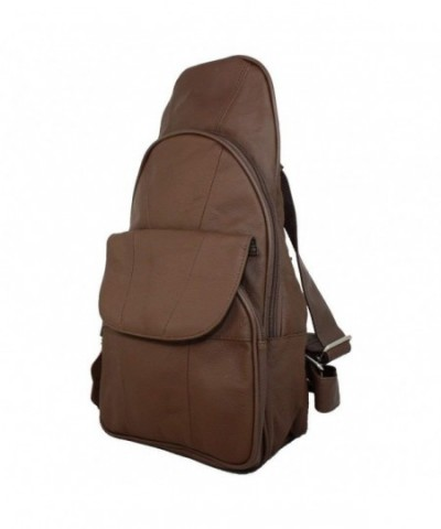 Genuine Leather Backpack Daypack Shoulder