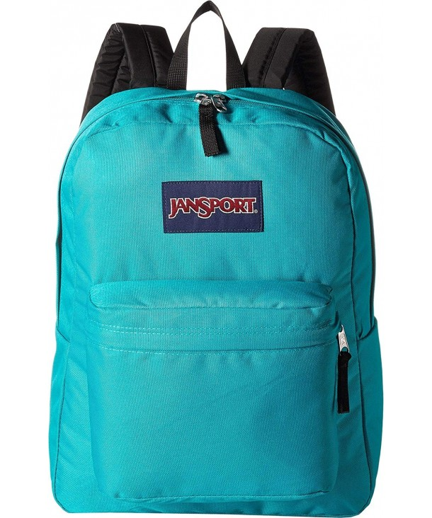 JanSport Unisex SuperBreak Spanish Teal