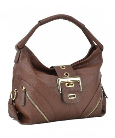Dasein Classic Shoulder Handbag Pockets