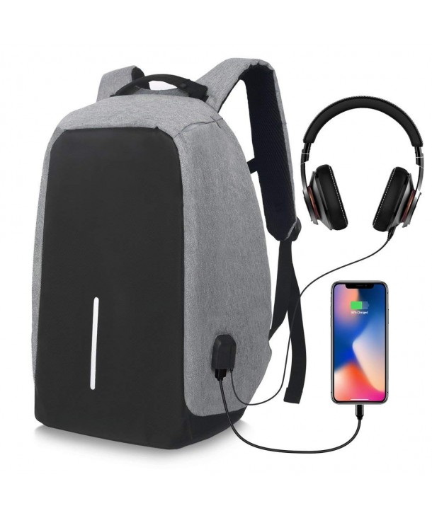 Business Backpack Headphone Lightweight Resistant