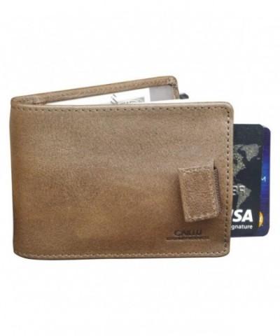 CAILLU leather wallet Designer Bifold