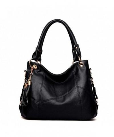 Womens Shoulder Handbag Satchel Leather