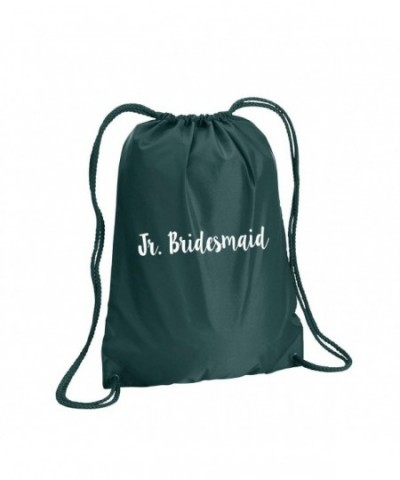 Bridesmaid Cinch Pack Forest Green