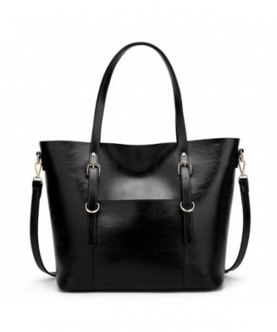 Handbag Leather Handle Satchel Shoulder