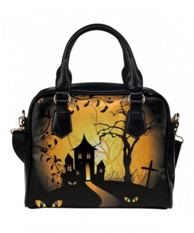 InterestPrint Custom Leather Shoulder Handbag