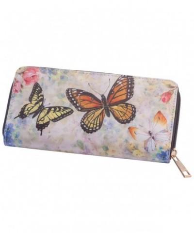 Miles Kimball Designer Wallet Butterflies