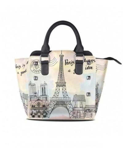 Vintage Paris Eiffel Leather Shoulder