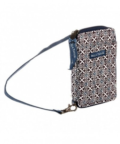 Taylor Javabloom Quilted Cotton Wallet