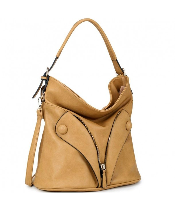 Dasein Zipped Jacket Shoulder Handbag
