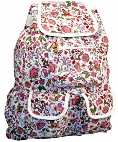 Floral Fashion Backpack Blooming Daypack
