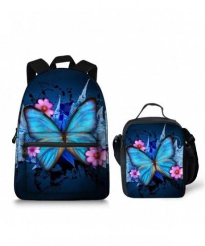 Butterfly Lightweight Laptop Backpack Bookbag