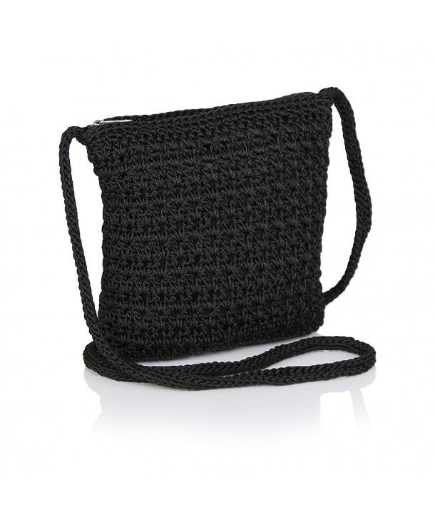 Crochet Crossbody Handbag Organizer Crocheted