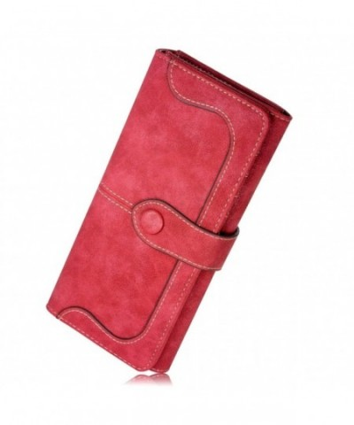 Fineway Womens Leather Buckle Holder