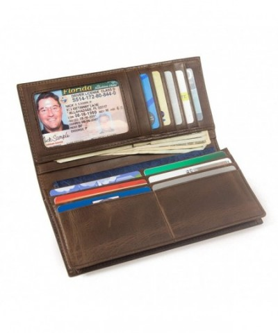 RFID Wallet Checkbook Electronic Pickpocketing