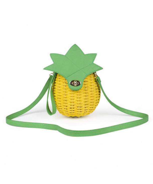 SUKUTU Pineapple Shoulder Crossbody Wristlet