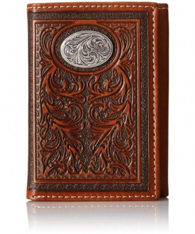 Nocona Mens Oval Trifold Size