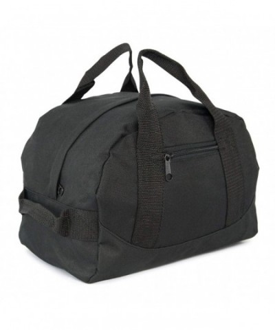 Mini Two Tone Duffle Black