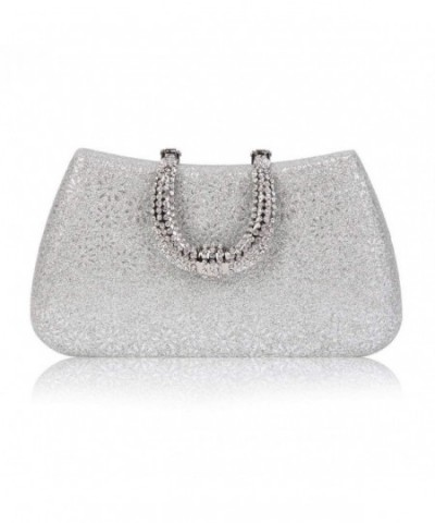 Damara Rhinestones Hardcase Embossed Evening