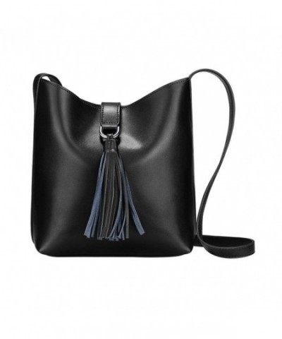 S ZONE Cowhide Leather Shoulder Cross body