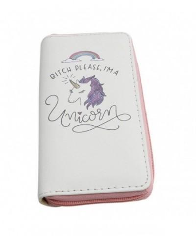 HENGSONG Women Unicorn Wallet Shopping