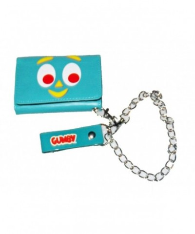 Gumby Green Wallet Chain Licensed
