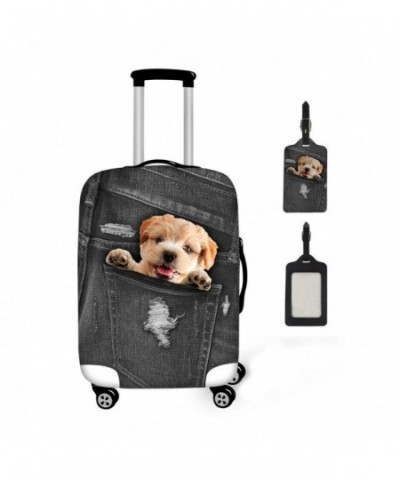 Coloranimal Kawaii Puppy Luggage Suitcase