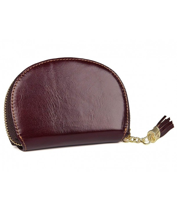 Womens Genuine Leather Around Secure