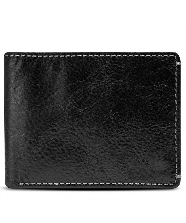 Co Jack Wallet Full Leather Hand Finish Mens