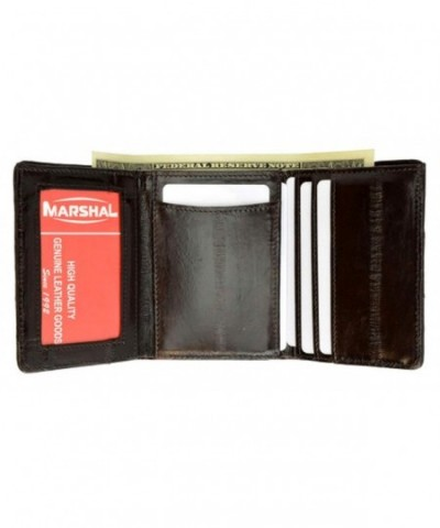 Skin Trifold Wallet Marshal Style