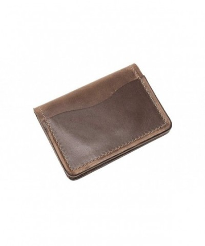 Leather Wallet Men Horween Chromexcel