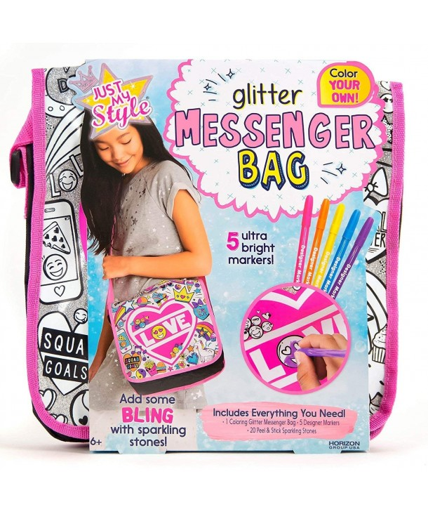 Just My Style Glitter Messenger