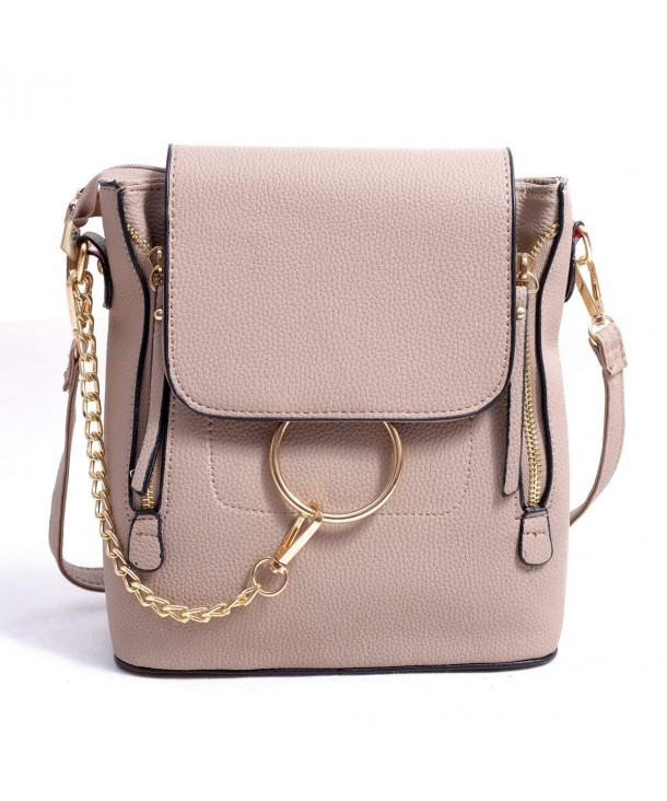 BABORRY Crossbody Backpack Designer Shoulder