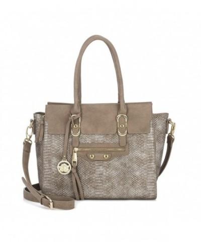 Sonnet Rose Womens Handbag Leather