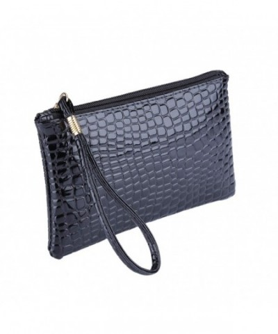 Wristlet Clutch leather Handbag Wallet