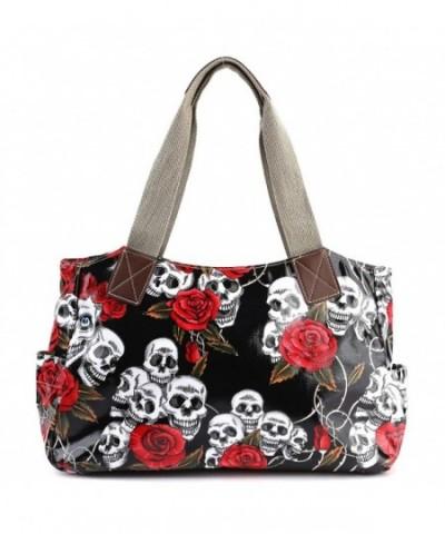 Cartoon Oilcloth Shoulder Canvas Handbag
