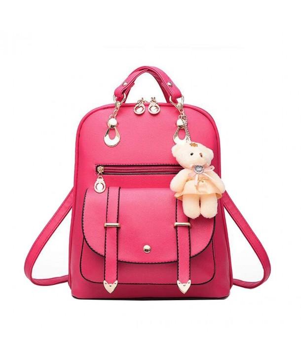 xhorizon Fashion Leather Backpack Shoulder