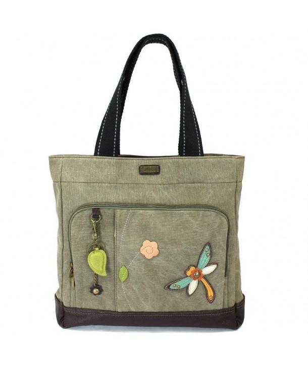 CARRYALL Shoulder Handbag Leather Dragonfly